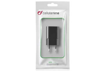 Immagine di CARICA BATTERIE DA RETE 1 ATTACCO USB   NERO