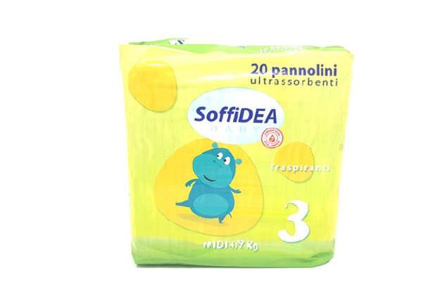 Immagine di Soffidea pannolini 4-9 kg 20pz