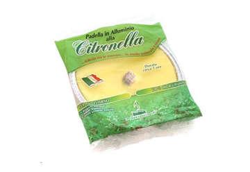 Immagine di Fiaccola citronella alluminio small 11x2cm