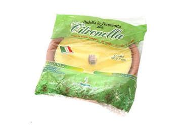Immagine di Fiaccola terracotta medium citronella 15x3cm