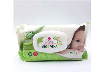 Immagine di Salviettine baby aloe pop-up 72pz
