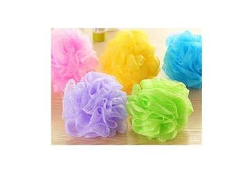 Immagine di Spugna Flower scrub colori assortiti