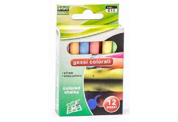 Immagine di Gessi colorati 12pz lebez
