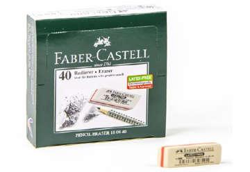 Immagine di Gomma Faber Castell caucciù bianca