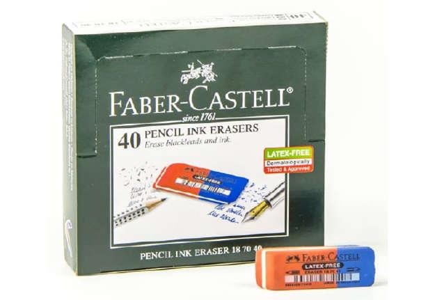Immagine di Gomma Faber-Castell rosso/blu