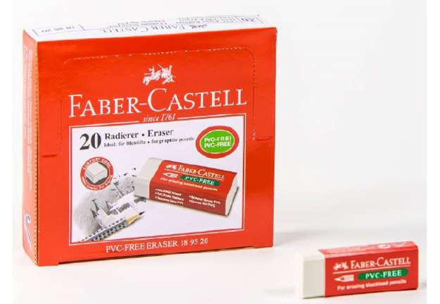 Immagine di Gomma in vinile con guaina Faber Castell