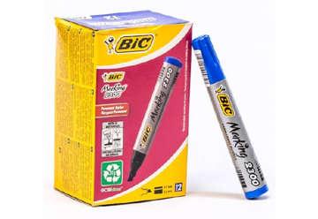 Immagine di Bic marker eco 2300 blu 12pz