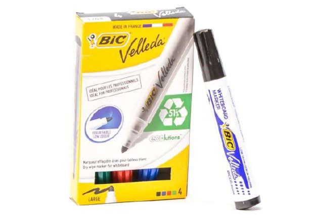 Immagine di Bic Velleda pennarello per lavagna 4 colori