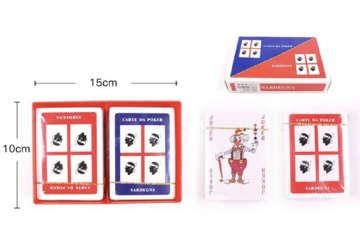 Immagine di Carte da poker 4 mori doppio mazzo