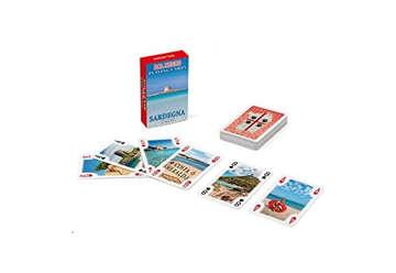 Immagine di Mini Poker souvenir Sardegna Rosso