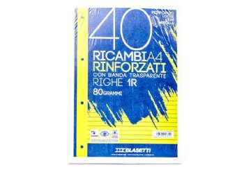 Immagine di Ricambi rinforzati blasetti A4 1rigo 80gr