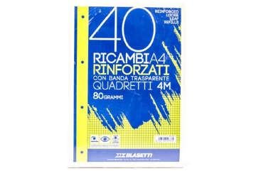 Immagine di Ricambi rinforzati blasetti A4 4mm 80gr