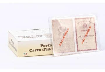 Immagine di Porta carta d'identità cristal a tasca 100pz