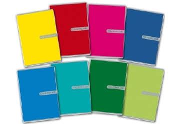 Immagine di Quadernino A5 Colorclub 1 rigo con margine 0C