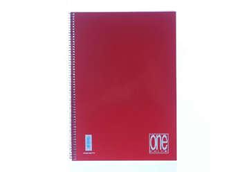 Immagine di Quaderno A4 One color spirale 1 rigo 1R