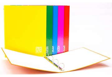 Immagine di Raccoglitore ad anelli One color A4 26x32cm