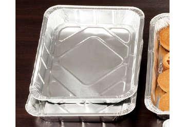 Immagine di Set 2 vaschette alluminio