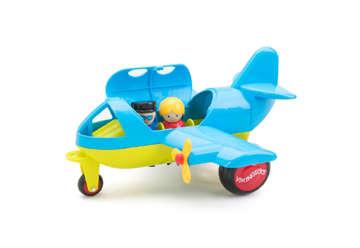 Immagine di Jumbo plane con 2 figure