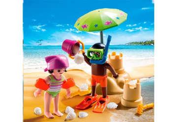 Immagine di Bambini in spiaggia