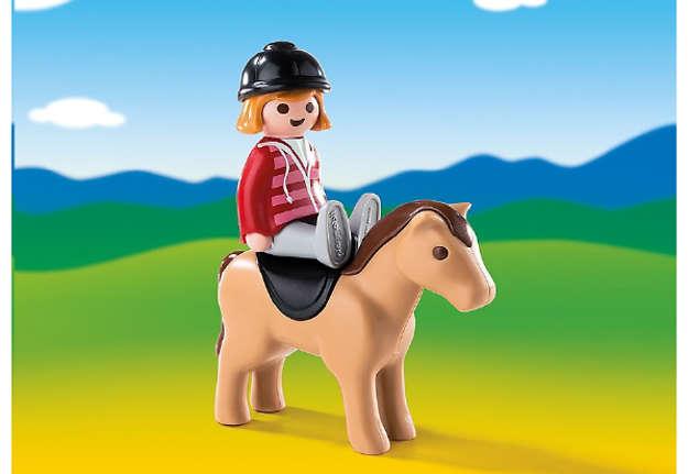 Immagine di Fantino e cavallo 1 2 3