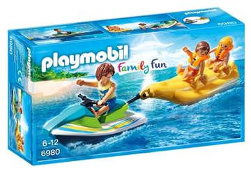 Immagine di Moto d'acqua con banana boat