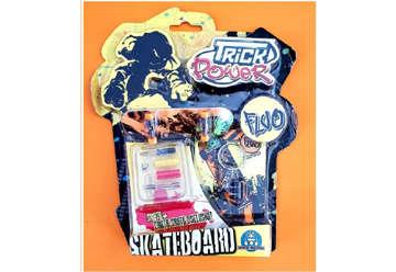 Immagine di Trick power fluo mini skate in blister
