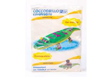 Immagine di Coccodrillo cavalcabile 145cm