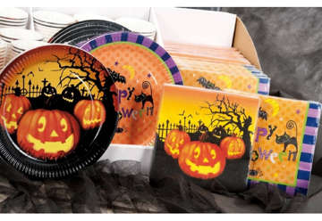 Immagine di Tovaglioli carta Halloween 10pz
