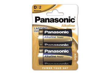 Immagine di Blister 2 torce Panasonic lr20