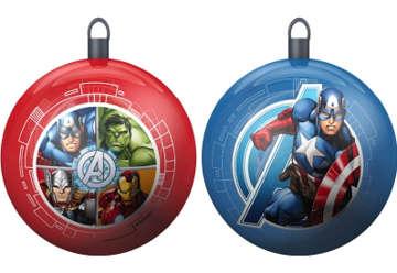 Immagine di Set 2pz Palline di Natale Avengers 10cm