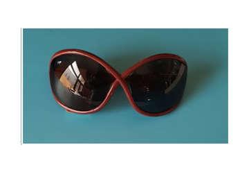 Immagine di Occhiale donna sole bordeaux intrecc. mod. 022