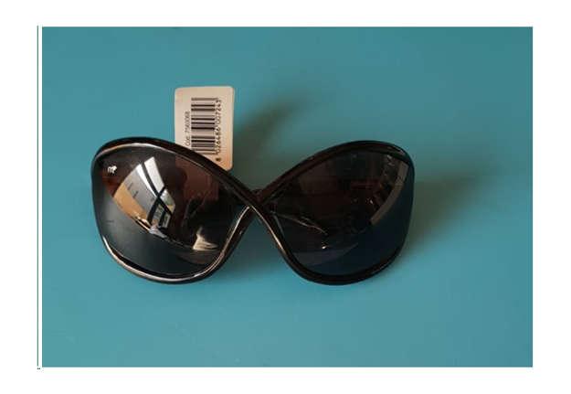 Immagine di Occhiale donna sole nero intrecc. mod. 021