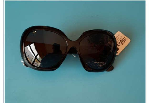 Immagine di Occhiale donna sole nero lenti Melanin mod. 058
