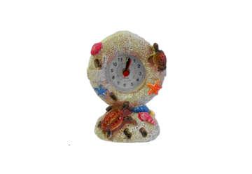 Immagine di Orologio in resina soggetti marini e sabbia