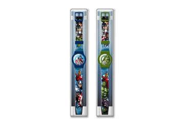 Immagine di Orologio da polso Avengers in scatola plastica
