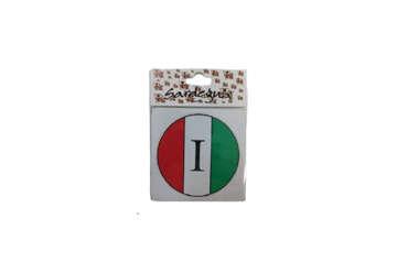 Immagine di Adesivo bollone Italia 6cm