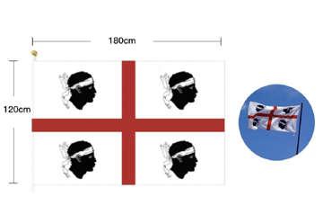 Immagine di Bandiera 4mori 120x180cm senza asta