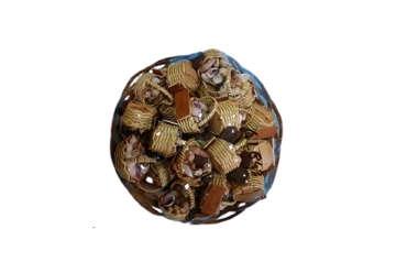Immagine di Cesto con 24magneti cestino con conchiglie