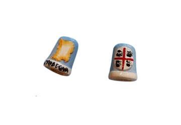 Immagine di Ditale ceramica Sardegna 3cm