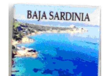 Immagine di Magnete Ceramica Baja Sardinia 5x5cm