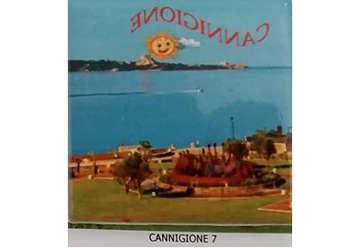 Immagine di Magnete Ceramica Cannigione 5x5cm