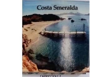 Immagine di Magnete Ceramica Costa Smeralda capriccioli 5x5 cm