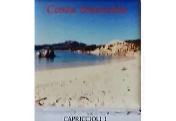 Immagine di Magnete Ceramica Costa Smeralda capriccioli 5x5cm