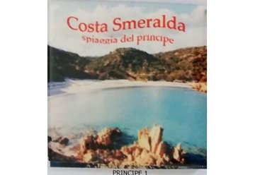 Immagine di Magnete Ceramica Costa Smeralda Spiaggia del principe 5x5cm