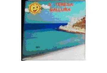 Immagine di Magnete Ceramica Santa Teresa 5x5cm
