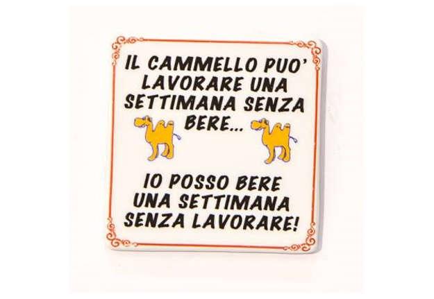 Immagine di Magnete Cammello in ceramica