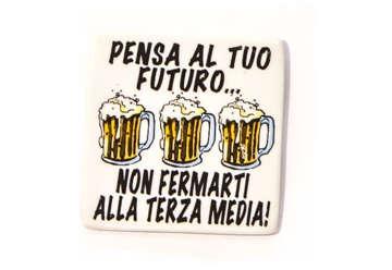 Immagine di Magnete ceramica con motto