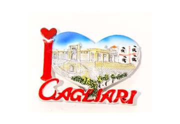 Immagine di Magnete I love Cagliari