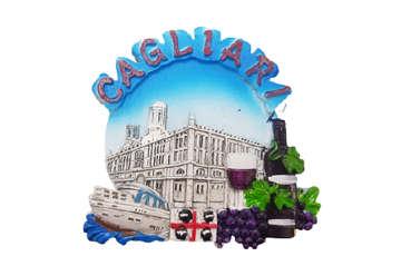 Immagine di Magnete Municipio Cagliari + mirto