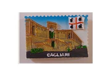Immagine di Magnete Sardegna francobollo 4 Mori
